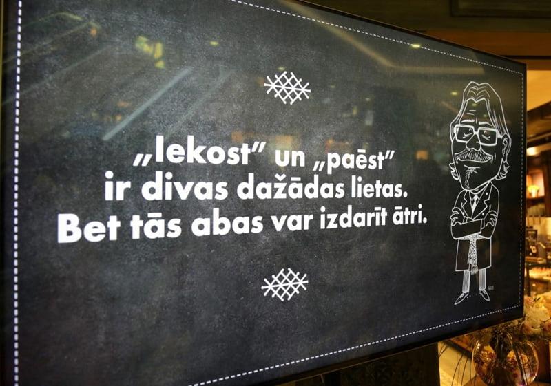 Kirsons caricature, Gatis Sluka, lido