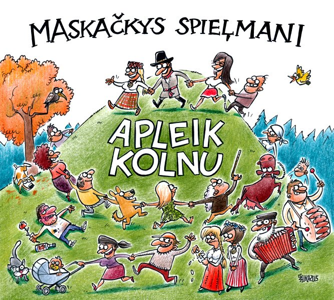 CD of folklore band Maskackas spelmani